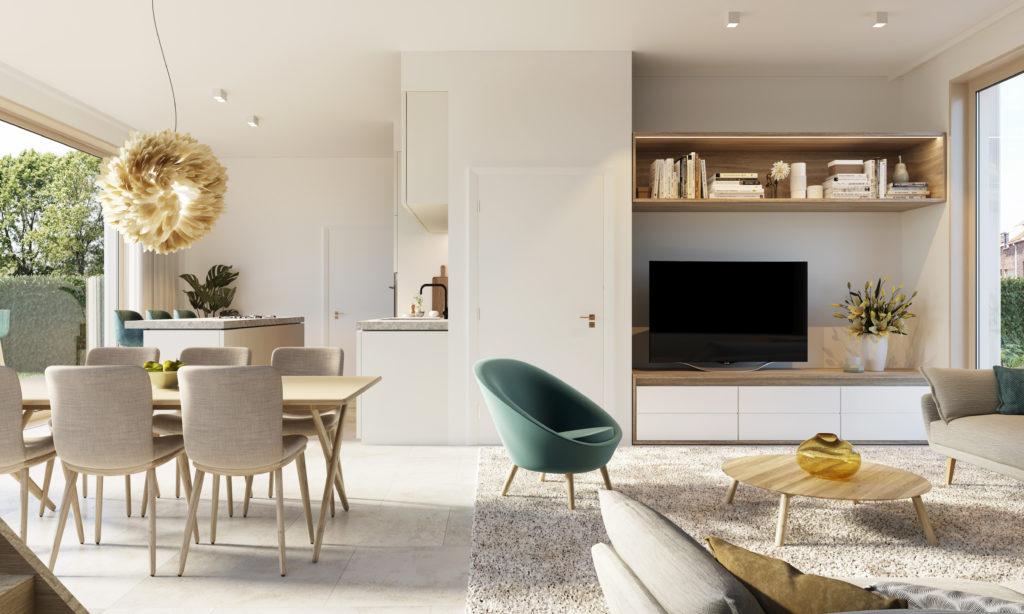 Villa Sillicia - Duurzame nieuwbouwwoning te koop in Kessel-Lo, stadsrand Leuven. Pine-Projects.